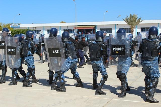 تخريج الدفعة السادسة الشرطة القضائية4