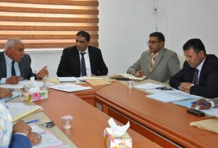 وزير العدل يلتقي مدير ورؤساء فروع ومكاتب المحاماة العامة