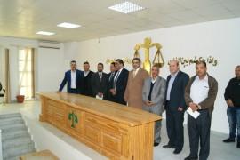 7جولة وزير العدل محكمة جنوب طرابلس6.12.2017