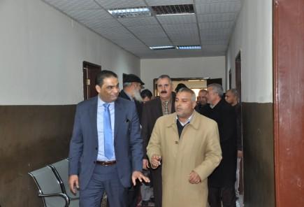 زيارة الوزير لمحكمة الزهراء والسواني